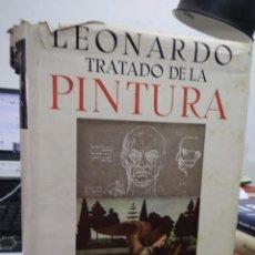 Libros de segunda mano: TRATADO DE LA PINTURA, LEONARDO DA VINCI. ART.548-473. Lote 207161448