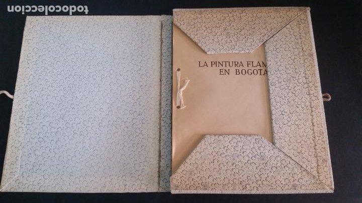 Libros de segunda mano: 1964 . gil tobar - La pintura flamenca en Bogotá - Foto 2 - 207204728