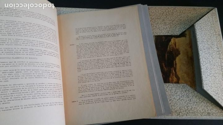 Libros de segunda mano: 1964 . gil tobar - La pintura flamenca en Bogotá - Foto 3 - 207204728