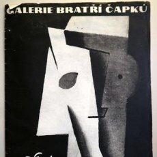 Libros de segunda mano: CAPEK, JOSEF - GALERIE BRATRI CAPKU. J. CAPEK - PRAHA 1965 - MUY ILUSTRADO. Lote 207824475