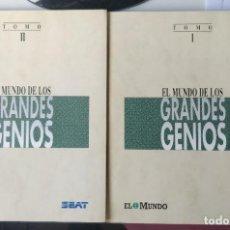 Libros de segunda mano: EL MUNDO DE LOS GRANDES GENIOS DE LA PINTURA. TOMOS I Y II. Lote 208165022