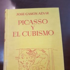 Libros de segunda mano: PICASSO Y EL CUBISMO. JOSE CAMON AZNAR. 1956. Lote 208752825