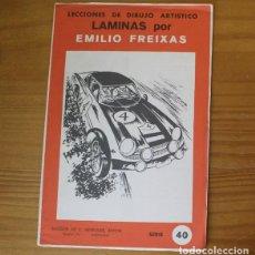 Livros em segunda mão: LECCIONES DE DIBUJO ARTISTICO LAMINAS POR EMILIO FREIXAS. SERIE 40 MESEGUER EDITOR 1964. Lote 208806976