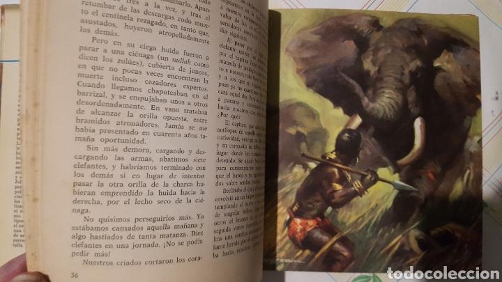Libros de segunda mano: Libro - LAS MINAS DEL REY SALOMÓN, AURIGA SERIE, EDICIONES I.D.A.G, 1ª EDICIÓN, AÑO 1964 - Foto 5 - 208888197