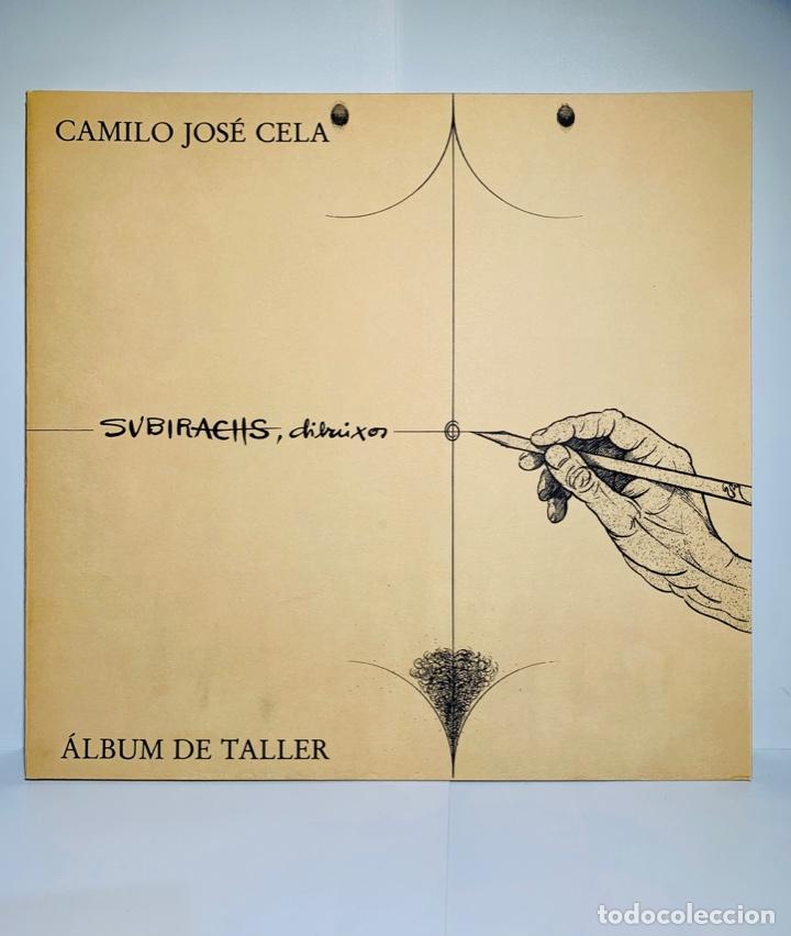 CAMILO JOSÉ CELA - SUBIRACHS. ÁLBUM DE TALLER. AMBIG. 1ERA ED. 1981. NUMERADO. CON FACTURA DE ÉPOCA. (Libros de Segunda Mano - Bellas artes, ocio y coleccionismo - Pintura)