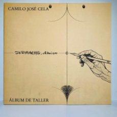 Libros de segunda mano: CAMILO JOSÉ CELA - SUBIRACHS. ÁLBUM DE TALLER. AMBIG. 1ERA ED. 1981. NUMERADO. CON FACTURA DE ÉPOCA.. Lote 208935193