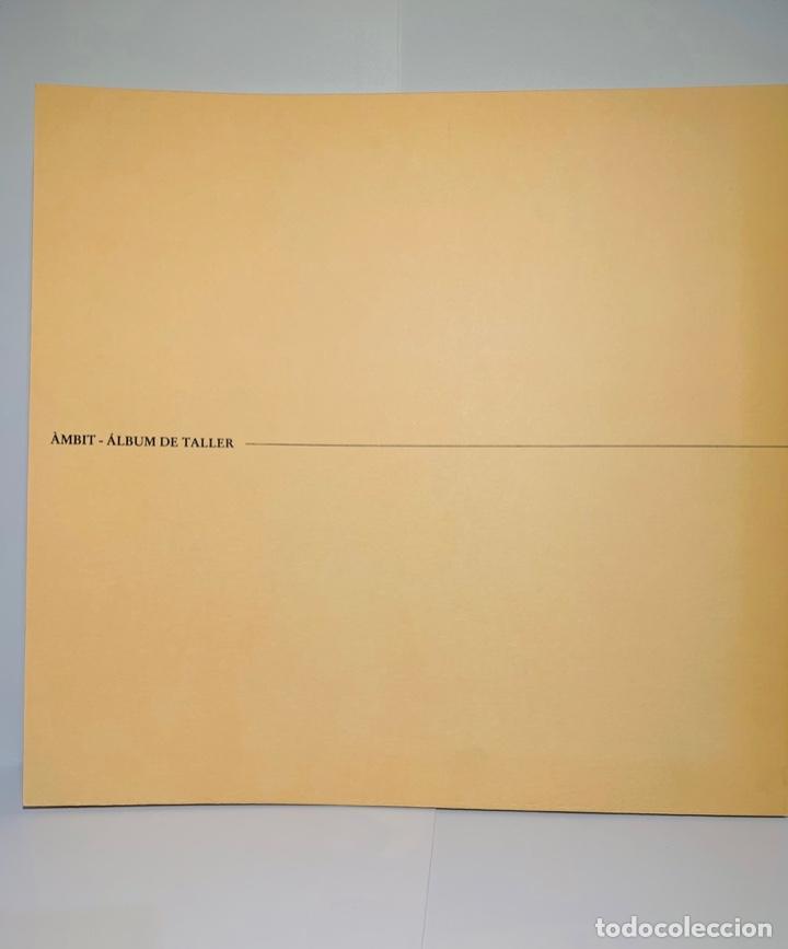 Libros de segunda mano: Camilo José Cela - Subirachs. Álbum de Taller. Ambig. 1era Ed. 1981. Numerado. Con factura de época. - Foto 2 - 208935193