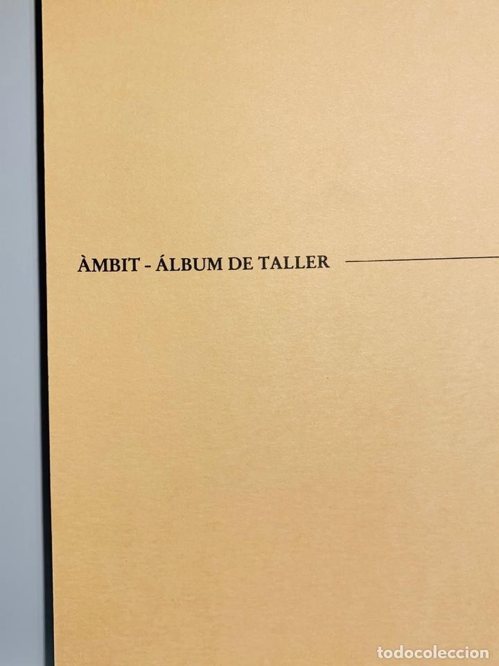 Libros de segunda mano: Camilo José Cela - Subirachs. Álbum de Taller. Ambig. 1era Ed. 1981. Numerado. Con factura de época. - Foto 3 - 208935193