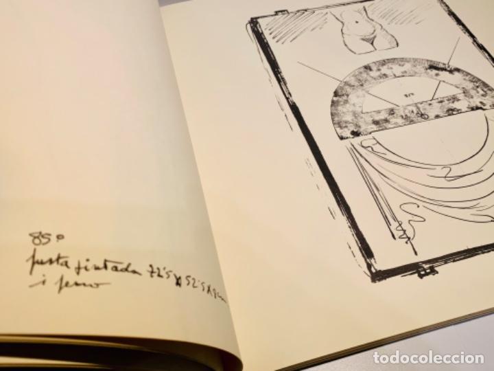 Libros de segunda mano: Camilo José Cela - Subirachs. Álbum de Taller. Ambig. 1era Ed. 1981. Numerado. Con factura de época. - Foto 13 - 208935193