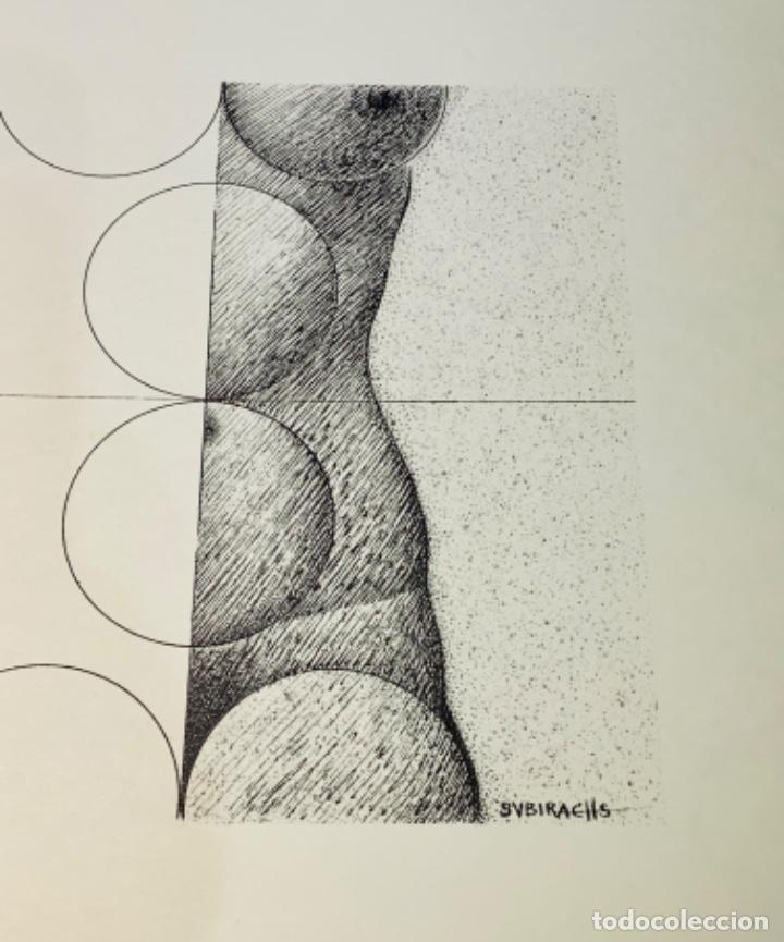 Libros de segunda mano: Camilo José Cela - Subirachs. Álbum de Taller. Ambig. 1era Ed. 1981. Numerado. Con factura de época. - Foto 14 - 208935193