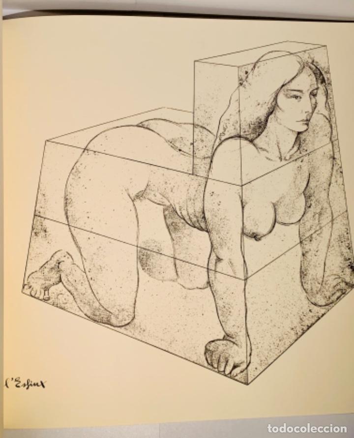 Libros de segunda mano: Camilo José Cela - Subirachs. Álbum de Taller. Ambig. 1era Ed. 1981. Numerado. Con factura de época. - Foto 15 - 208935193