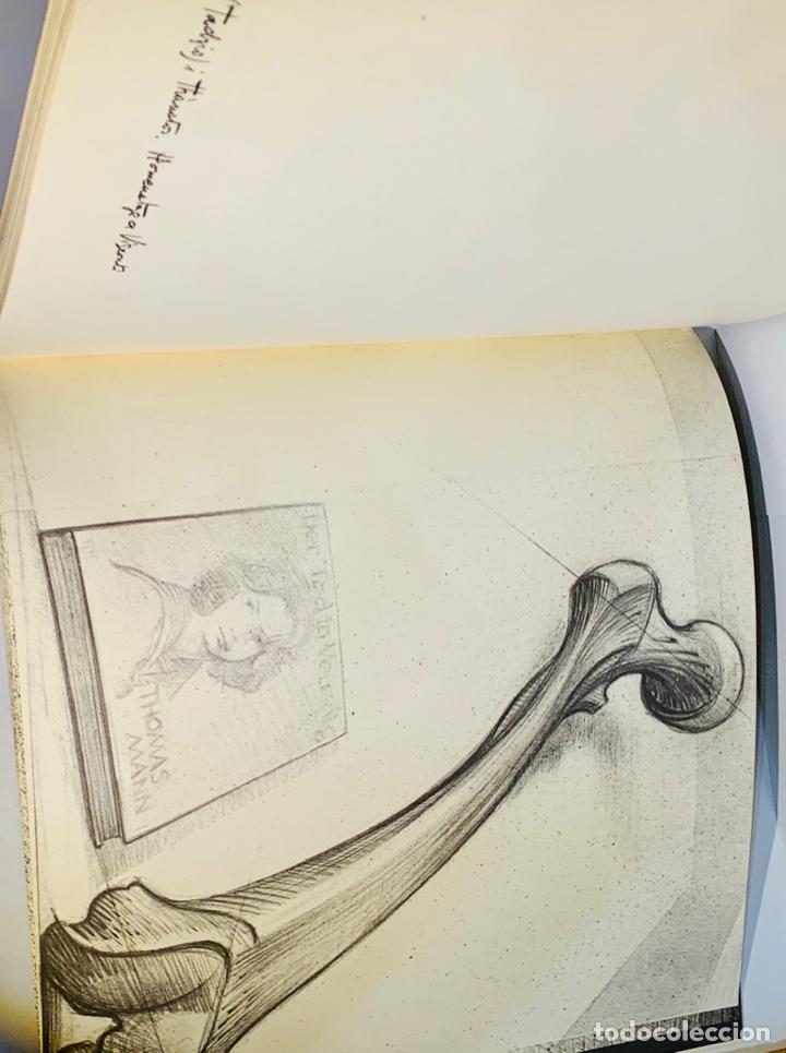Libros de segunda mano: Camilo José Cela - Subirachs. Álbum de Taller. Ambig. 1era Ed. 1981. Numerado. Con factura de época. - Foto 17 - 208935193
