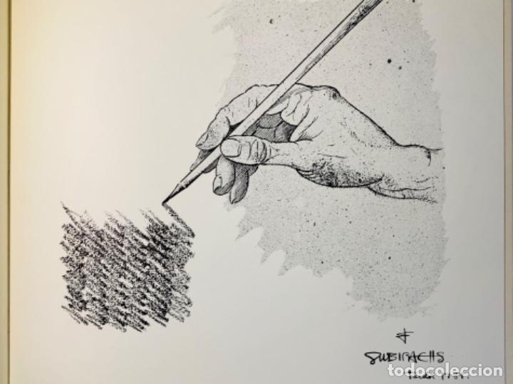 Libros de segunda mano: Camilo José Cela - Subirachs. Álbum de Taller. Ambig. 1era Ed. 1981. Numerado. Con factura de época. - Foto 18 - 208935193