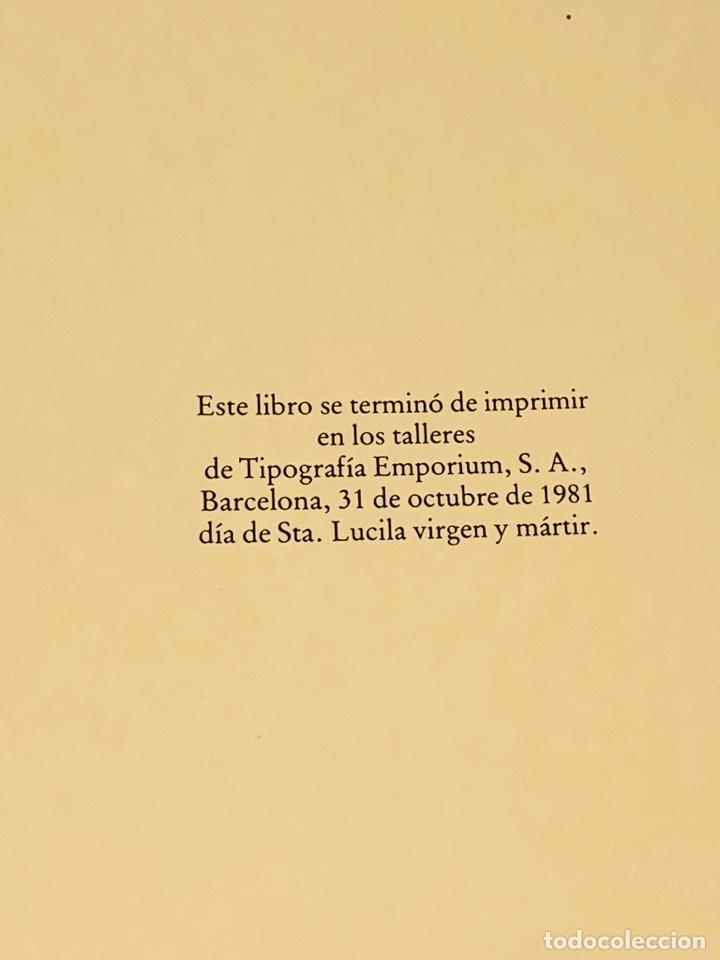 Libros de segunda mano: Camilo José Cela - Subirachs. Álbum de Taller. Ambig. 1era Ed. 1981. Numerado. Con factura de época. - Foto 19 - 208935193