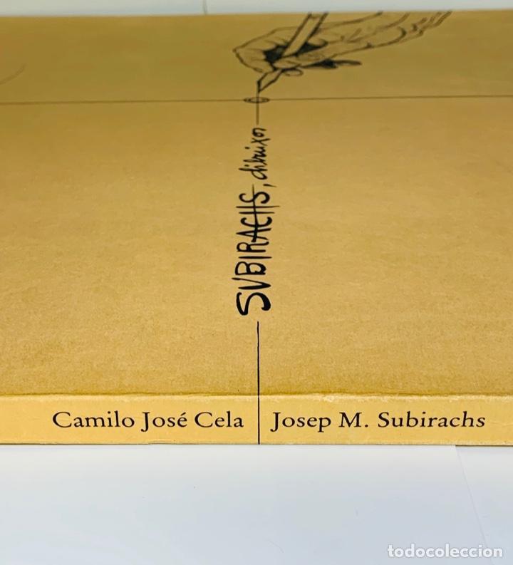 Libros de segunda mano: Camilo José Cela - Subirachs. Álbum de Taller. Ambig. 1era Ed. 1981. Numerado. Con factura de época. - Foto 21 - 208935193