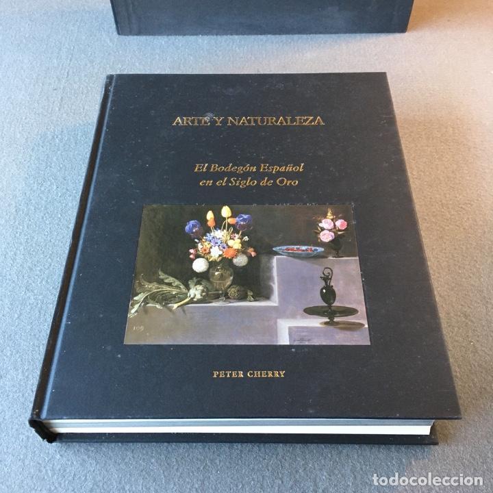 Libros de segunda mano: Arte y Naturaleza. El Bodegón Español en el Siglo de Oro. Peter Cherry. - Foto 3 - 209035525