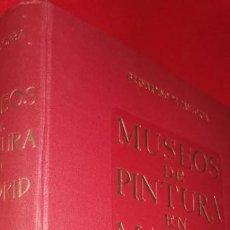 Libros de segunda mano: MUSEOS DE PINTURA EN MADRID, DE BERNARDINO DE PANTORBA, EDIT. MAYFE, , 5 EDICIÓN.. Lote 209057315