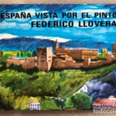 Libros de segunda mano: ESPAÑA VISTA POR EL PINTOR FEDERICO LLOVERAS. 56 LÁMINAS.. Lote 209171387