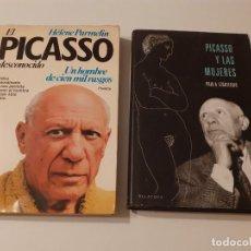 Libros de segunda mano: LOTE 2 LIBROS - PICASSO Y LAS MUJERES - EL PICASSO DESCONOCIDO EL HOMBRE DE LOS CIEN RASGOS. Lote 209194955
