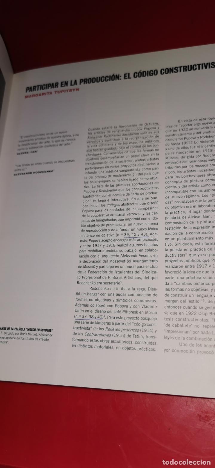Libros de segunda mano: Rodchenko y Popova . Definiendo el constructivismo Reina Sofía .2009 - Foto 4 - 217572106