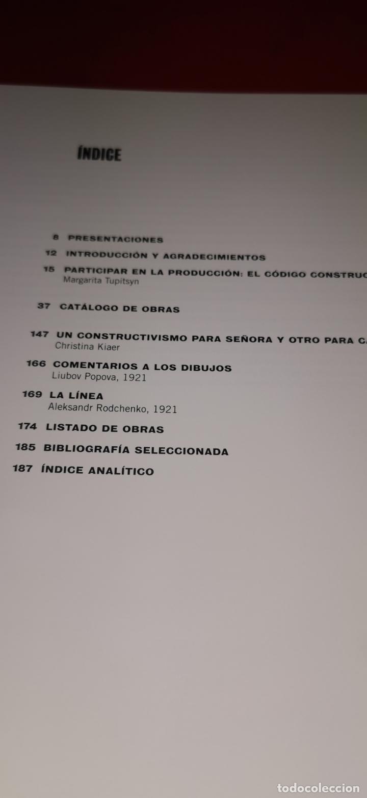 Libros de segunda mano: Rodchenko y Popova . Definiendo el constructivismo Reina Sofía .2009 - Foto 7 - 217572106