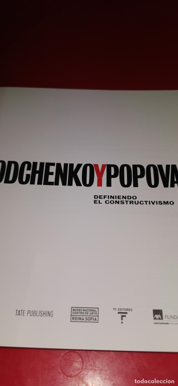 Libros de segunda mano: Rodchenko y Popova . Definiendo el constructivismo Reina Sofía .2009 - Foto 8 - 217572106