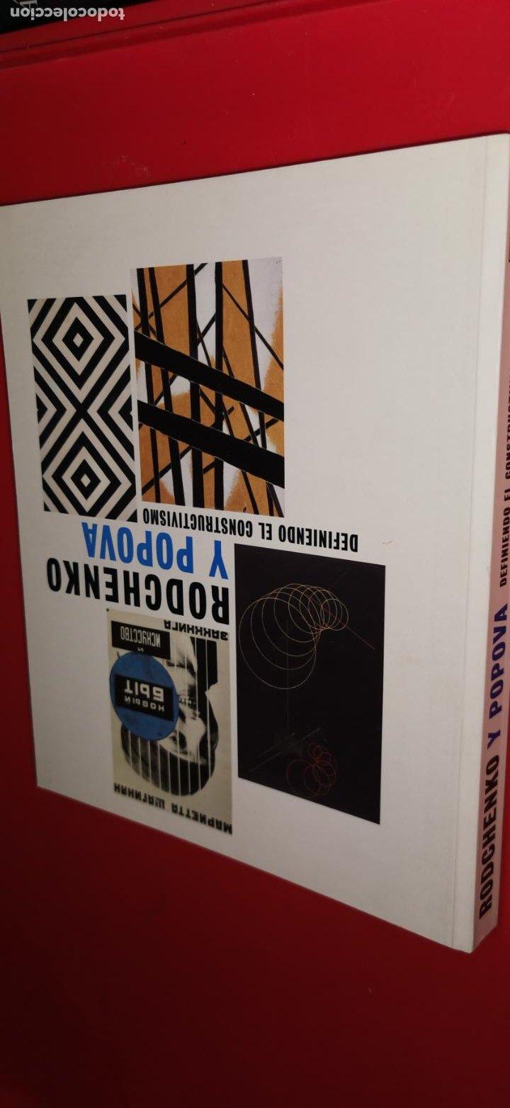 RODCHENKO Y POPOVA . DEFINIENDO EL CONSTRUCTIVISMO REINA SOFÍA .2009 (Libros de Segunda Mano - Bellas artes, ocio y coleccionismo - Pintura)