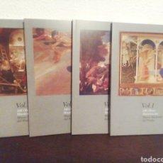 Libros de segunda mano: 100 OBRAS MAESTRAS DEL MUSEO NACIONAL DEL PRADO. 4 VOLÚMENES.. Lote 209963985