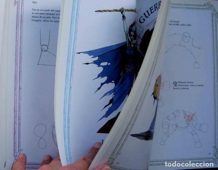 Libros de segunda mano: DIBUJAR MAGOS GUERREROS ORCOS Y ELFOS. STEVE. BEAUMONT -Editorial TASCHEN BENEDIKT - Foto 2 - 210022532