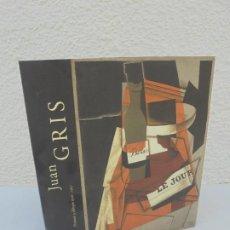 Libros de segunda mano: JUAN GRIS. PINTURAS Y DIBUJOS 1910-1927. MUSEO NACIONAL REINA SOFIA. 2005. BANCAJA. Lote 210035650