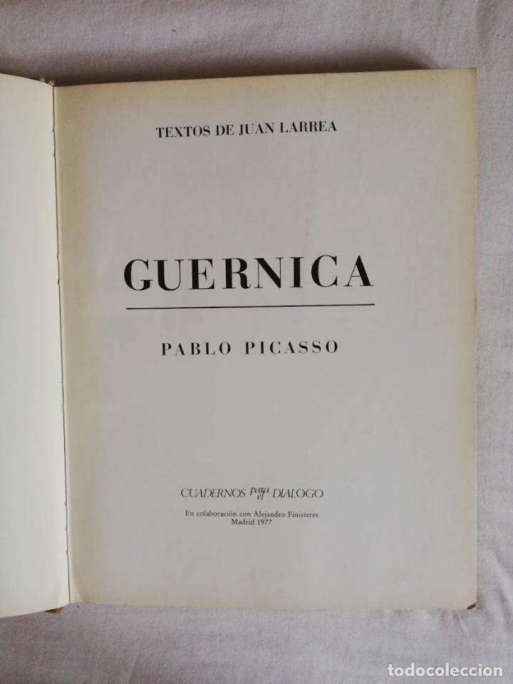 Libros de segunda mano: GUERNICA - JUAN LARREA - Foto 3 - 210416216