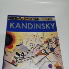 Libros de segunda mano: KANDINSKY , M. J. DIAZ ED. TIKAL 2009. Lote 210703374