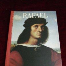 Libros de segunda mano: RAFAEL. LOS GRANDES GENIOS DEL ARTE. BIBLIOTECAS DEL MUNDO. AÑO 2004. Lote 210731421