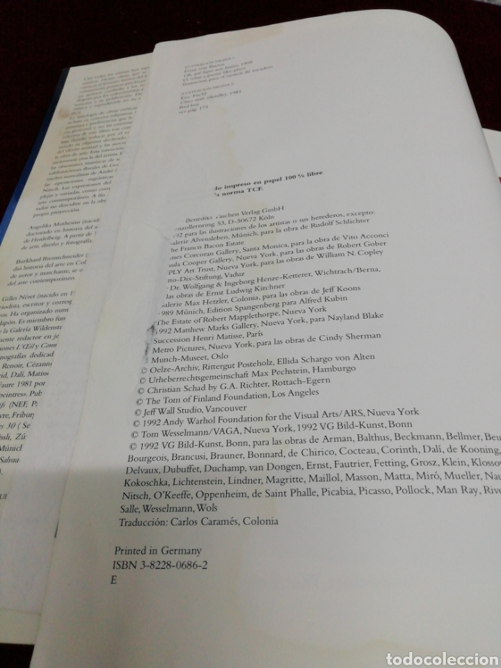 Libros de segunda mano: El erotismo en el arte del aiglo XX. Benedikt Taschen. Año 1981 - Foto 5 - 210933139