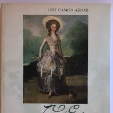 Livros em segunda mão: FRANCISCO DE GOYA/ TOMO II / 1785-1796 / JOSÉ CAMÓN AZNAR / CAJA AHORROS DE ZARAGOZA ARAGÓN Y RIOJA. Lote 211659174
