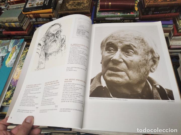 Libros de segunda mano: EL MIRÓ INVISIBLE. VEINTE VISIONES DE UN VISIONARIO POR NILS BURWITZ. NUMERADO Y FIRMA DE BURWITZ - Foto 4 - 212152732