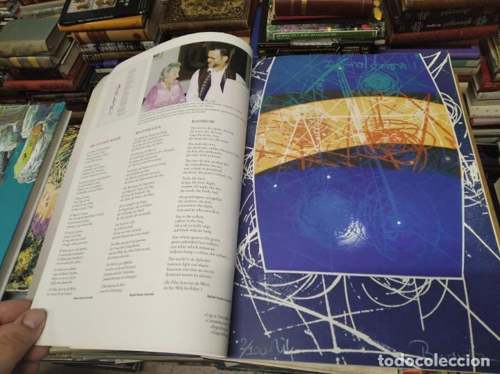 Libros de segunda mano: EL MIRÓ INVISIBLE. VEINTE VISIONES DE UN VISIONARIO POR NILS BURWITZ. NUMERADO Y FIRMA DE BURWITZ - Foto 5 - 212152732