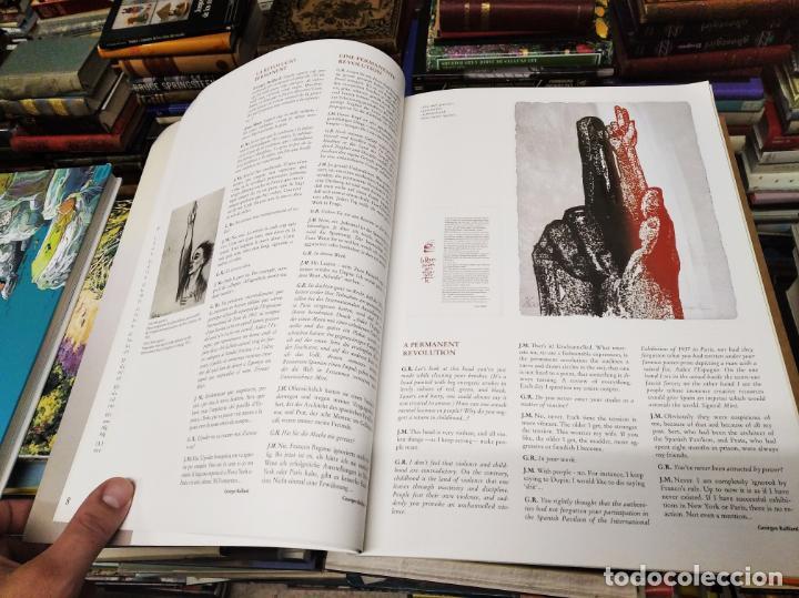 Libros de segunda mano: EL MIRÓ INVISIBLE. VEINTE VISIONES DE UN VISIONARIO POR NILS BURWITZ. NUMERADO Y FIRMA DE BURWITZ - Foto 6 - 212152732
