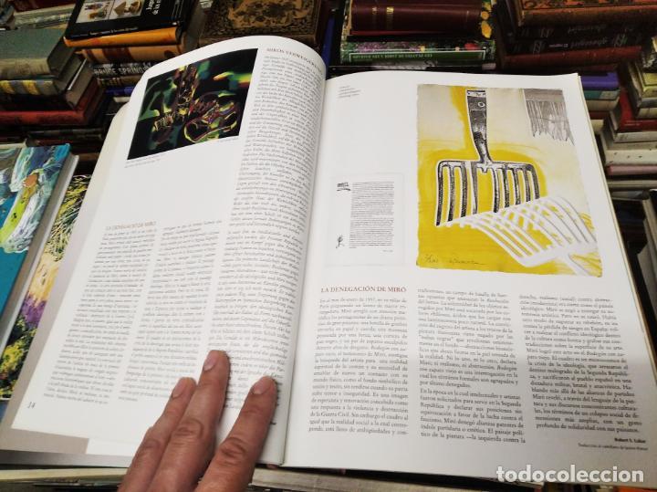 Libros de segunda mano: EL MIRÓ INVISIBLE. VEINTE VISIONES DE UN VISIONARIO POR NILS BURWITZ. NUMERADO Y FIRMA DE BURWITZ - Foto 7 - 212152732
