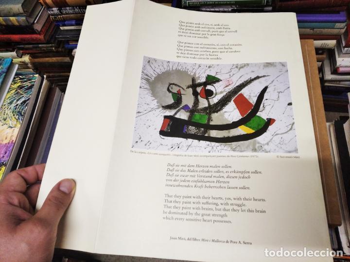 Libros de segunda mano: EL MIRÓ INVISIBLE. VEINTE VISIONES DE UN VISIONARIO POR NILS BURWITZ. NUMERADO Y FIRMA DE BURWITZ - Foto 14 - 212152732