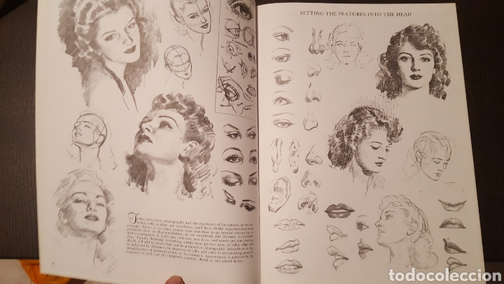 Libros de segunda mano: Lote - Libros Andrew Loomis - How to draw and paint - Walter Foster - Heads 2 - Figures in action - Foto 5 - 212727332