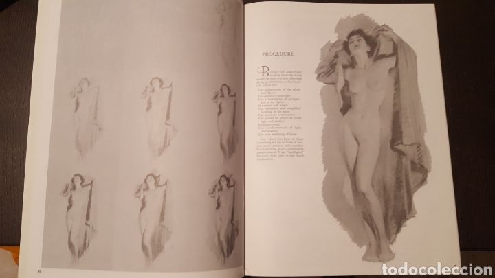 Libros de segunda mano: Lote - Libros Andrew Loomis - How to draw and paint - Walter Foster - Heads 2 - Figures in action - Foto 6 - 212727332
