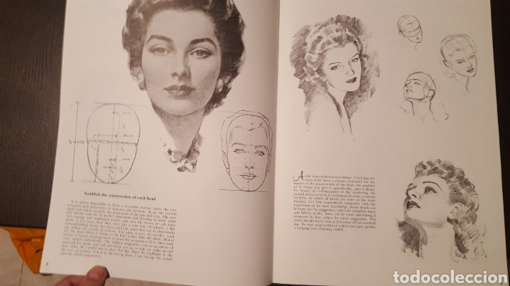 Libros de segunda mano: Lote - Libros Andrew Loomis - How to draw and paint - Walter Foster - Heads 2 - Figures in action - Foto 9 - 212727332