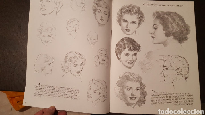 Libros de segunda mano: Lote - Libros Andrew Loomis - How to draw and paint - Walter Foster - Heads 2 - Figures in action - Foto 10 - 212727332