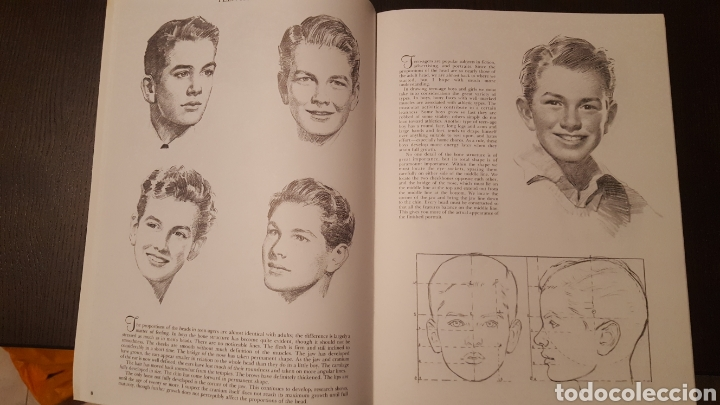 Libros de segunda mano: Lote - Libros Andrew Loomis - How to draw and paint - Walter Foster - Heads 2 - Figures in action - Foto 12 - 212727332