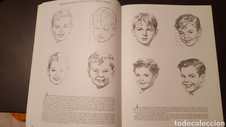 Libros de segunda mano: Lote - Libros Andrew Loomis - How to draw and paint - Walter Foster - Heads 2 - Figures in action - Foto 13 - 212727332