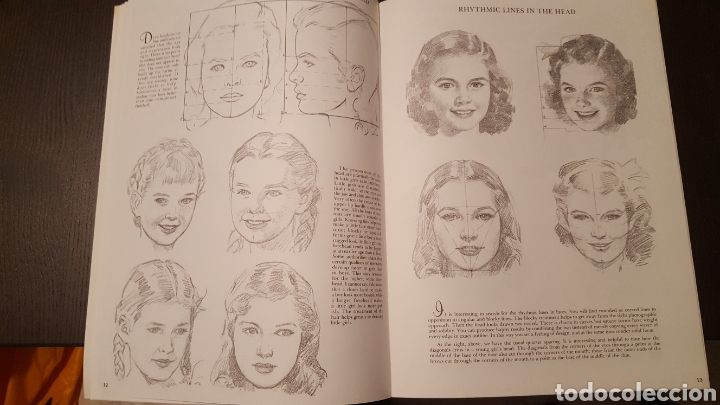 Libros de segunda mano: Lote - Libros Andrew Loomis - How to draw and paint - Walter Foster - Heads 2 - Figures in action - Foto 14 - 212727332