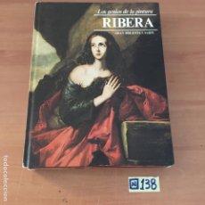 Libros de segunda mano: LOS GENIOS DE LA PINTURA RIBERA. Lote 213026945