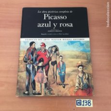 Libros de segunda mano: PICASSO AZUL Y ROSA. Lote 213031483