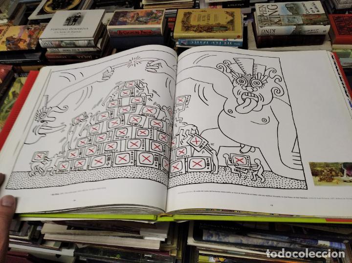 Libros de segunda mano: KEITH HARING . ELISABETH SUSSMAN . EVERGREEN - TASCHEN . 1998 . GRAFFITI . GENERACIÓN POP . SEXO . - Foto 24 - 213769272